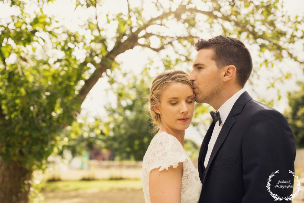 Séance mariage romantique