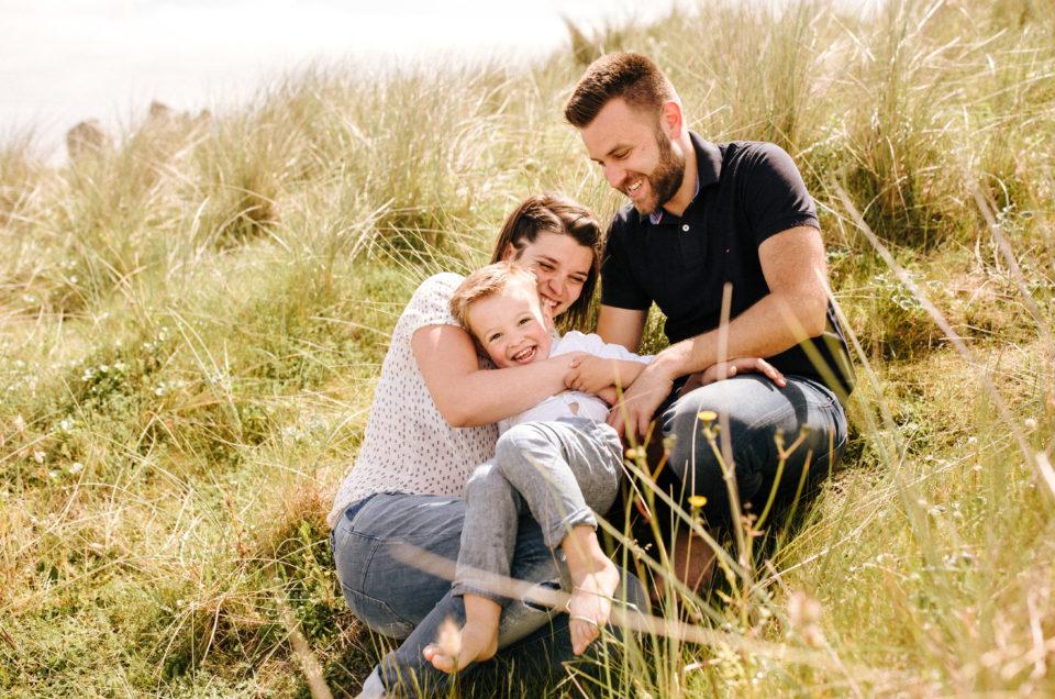 La séance famille au Finistère de Livio