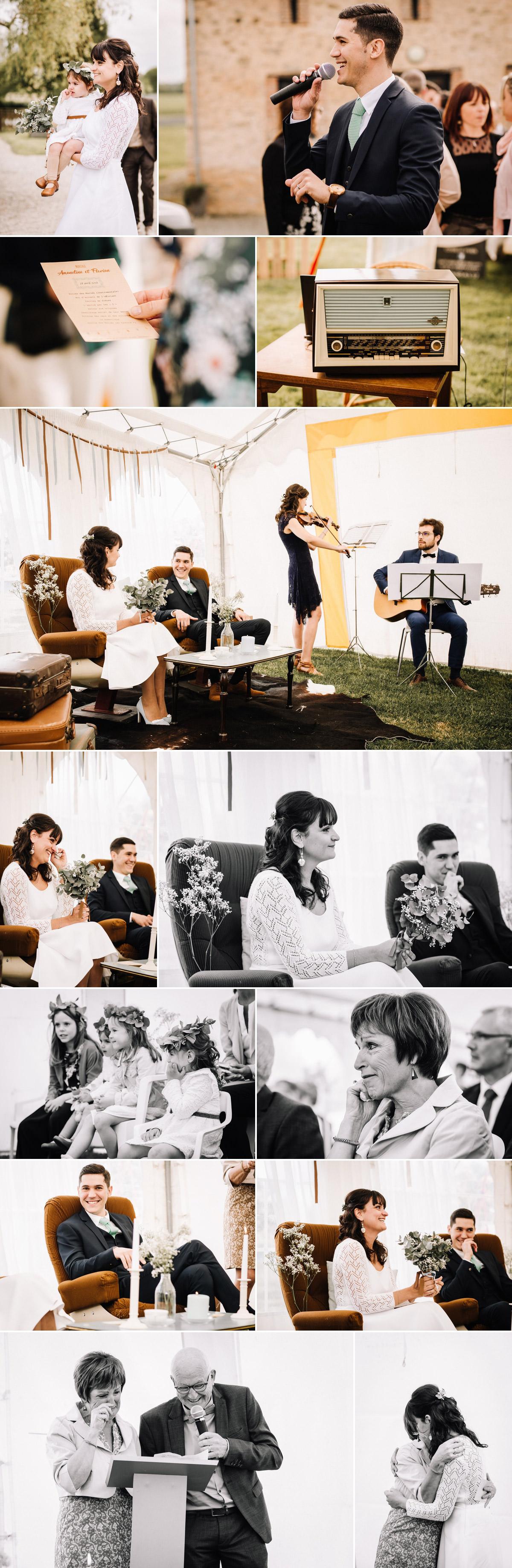 mariage récup' à Vitré